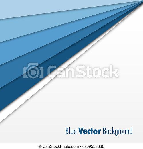 Un fondo azul - csp9553638