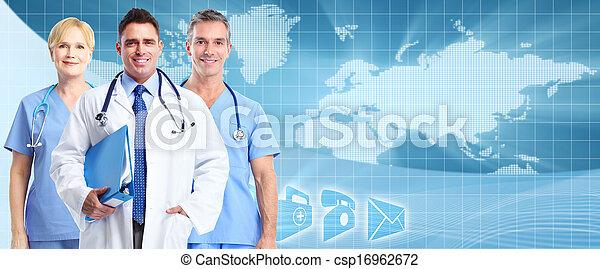 Fondo de atención médica. - csp16962672