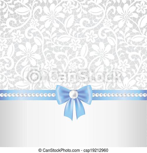 Fondo de tela de encaje - csp19212960