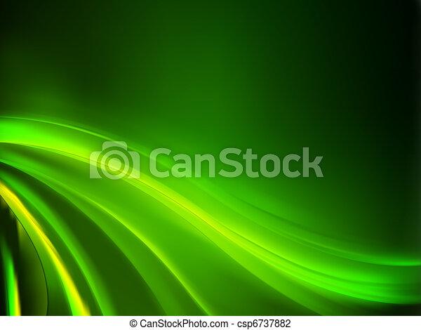 Abstracción de fondo verde. EPS 8 - csp6737882