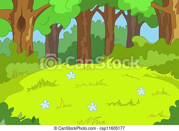 Forest Glade - csp11605177