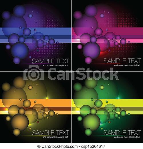 Formación de vectores abstractos - csp15364617