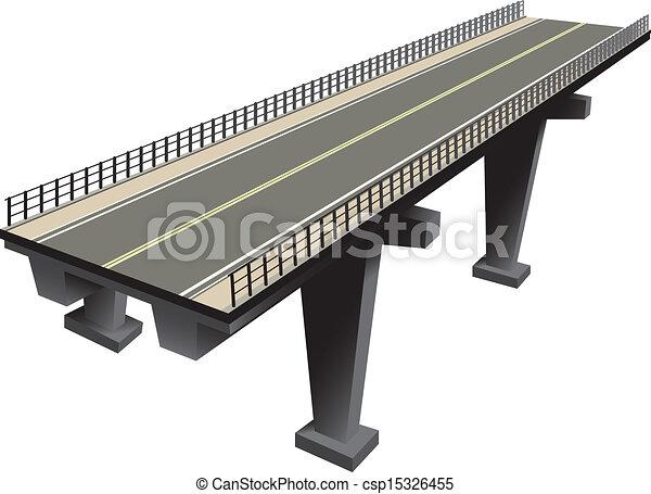 Fragmento de la autopista - csp15326455