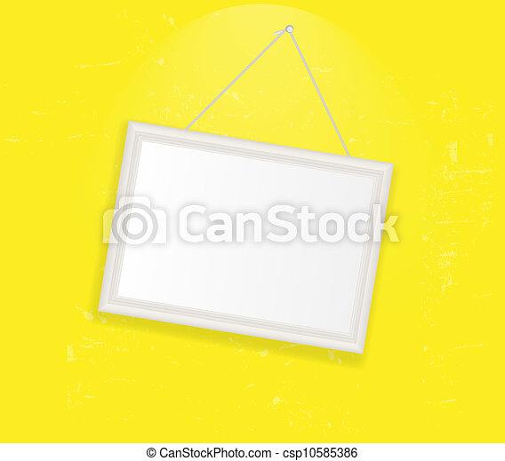 Frame en la ilustración del vector retro - csp10585386
