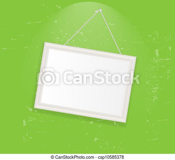 Frame en la ilustración del vector retro - csp10585378