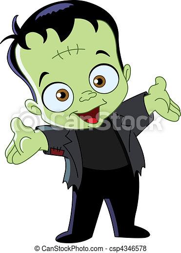 El chico Frankenstein - csp4346578