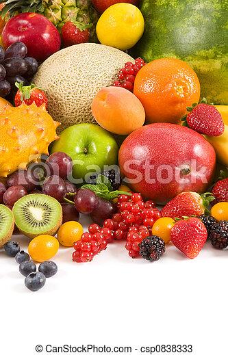 Frutas - csp0838333