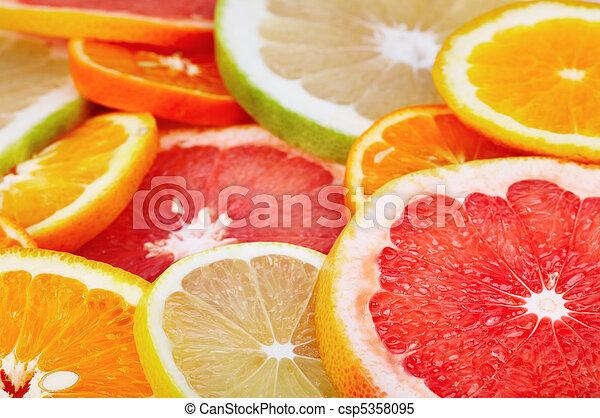 Frutas cítricas - csp5358095