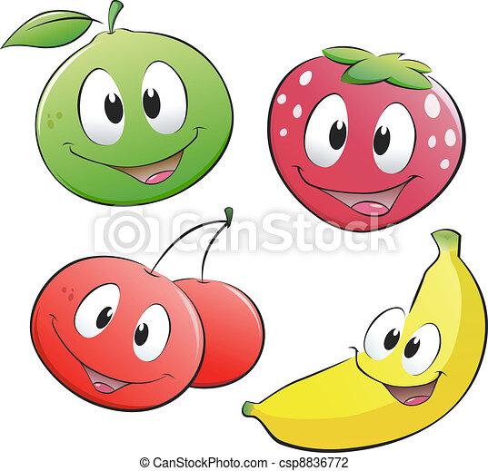 Fruta de cartón - csp8836772