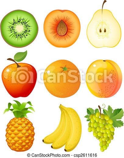 Fruta - csp2611616