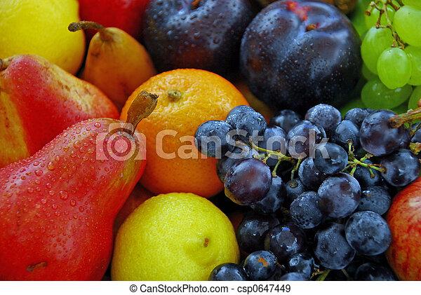 Fruta fresca variada - csp0647449