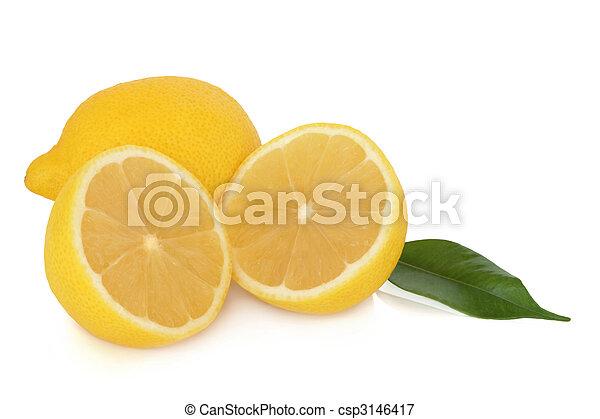 Fruta de limón - csp3146417