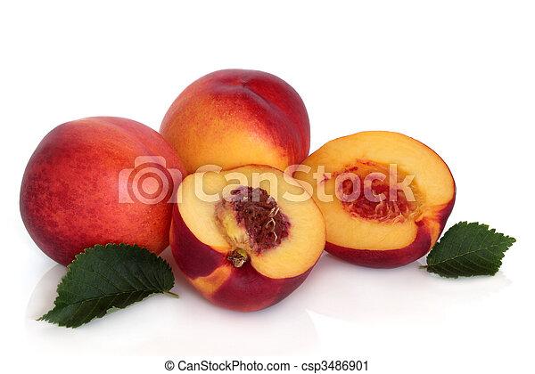 Fruta néctarina - csp3486901