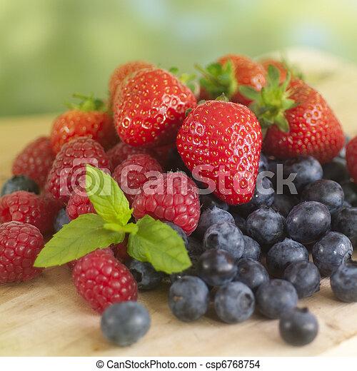 Frutas de verano - csp6768754