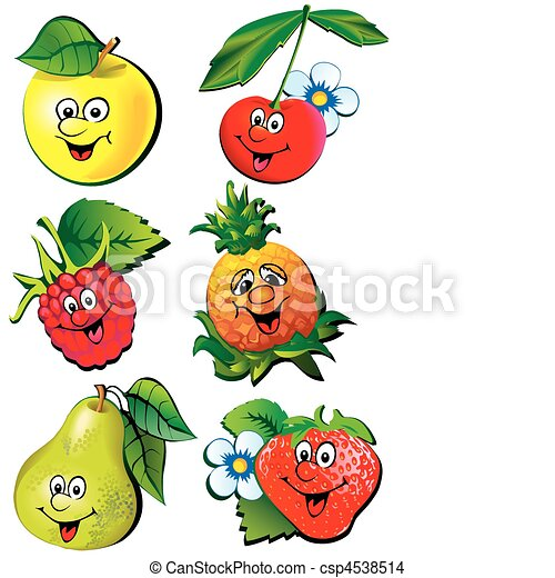 Frutas. - csp4538514