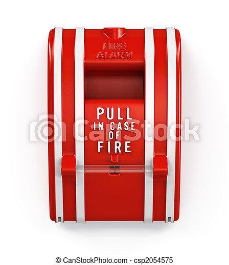 Estación de alarma de incendios - csp2054575