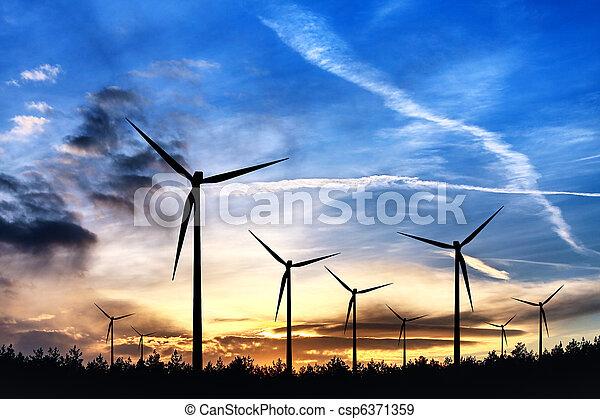 Una fuente de energía alternativa - csp6371359