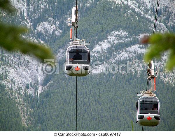 Gondola Banff - csp0097417