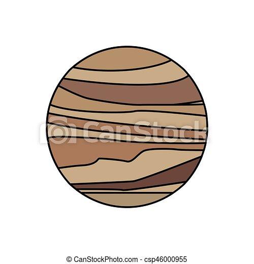 Galaxia del sistema solar de Venus - csp46000955