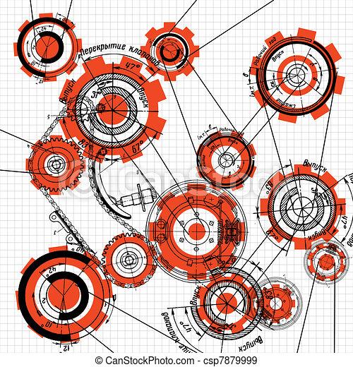 Gears y engranajes - csp7879999