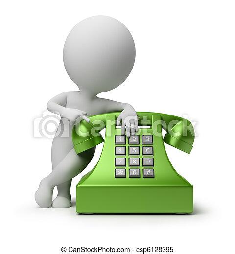 Llama por teléfono - csp6128395