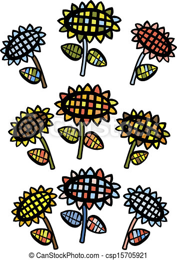 Girasoles - csp15705921