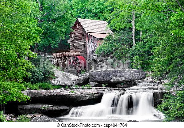 Glade Creek, molino - csp4041764