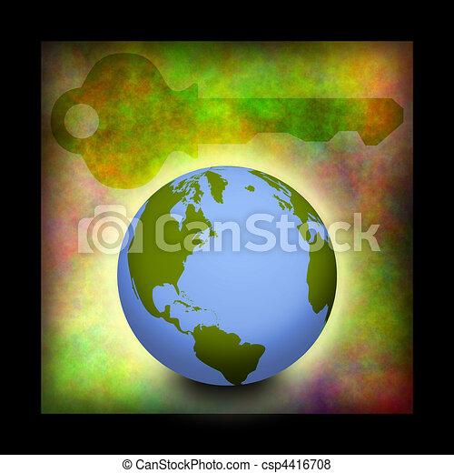 Llave global - csp4416708