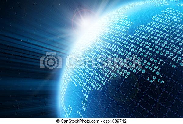 Globo digital - csp1089742