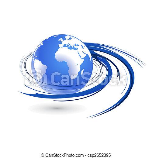 Globo giratorio - csp2652395