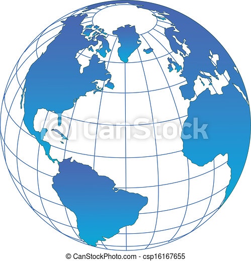 vector Globe - csp16167655