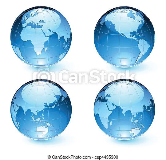 Glossos mapas terrestres - csp4435300