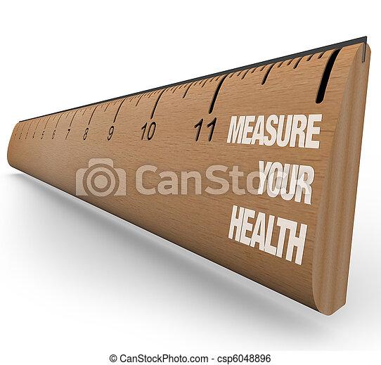 Gobernante, mide tu salud - csp6048896