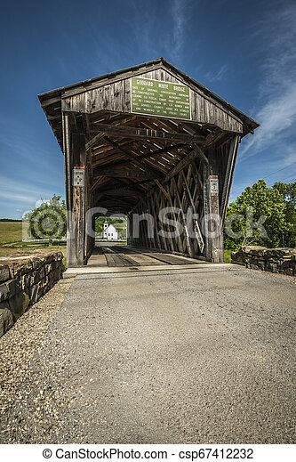 Goddard cubrió el puente, KY - csp67412232