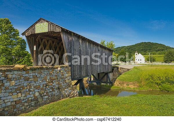 Goddard cubrió el puente, KY - csp67412240