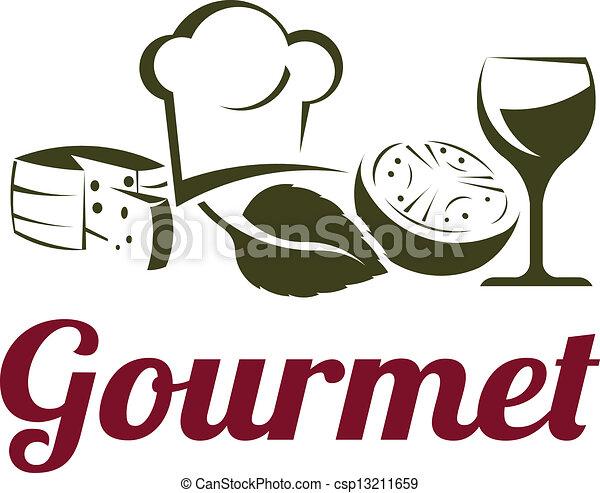 Gourmet cuisine - csp13211659