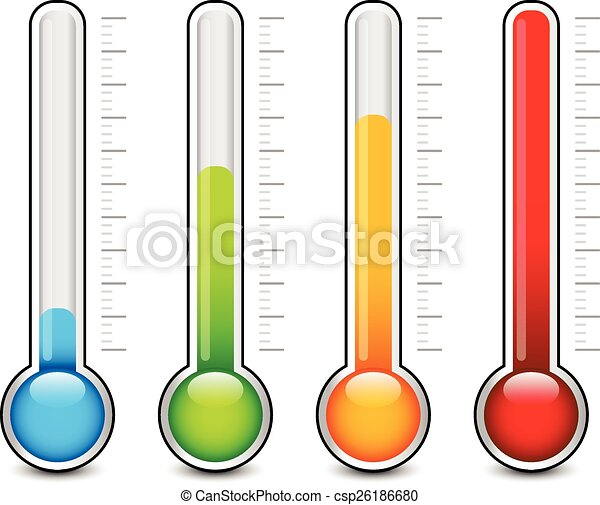 Gráficos termómetro - csp26186680