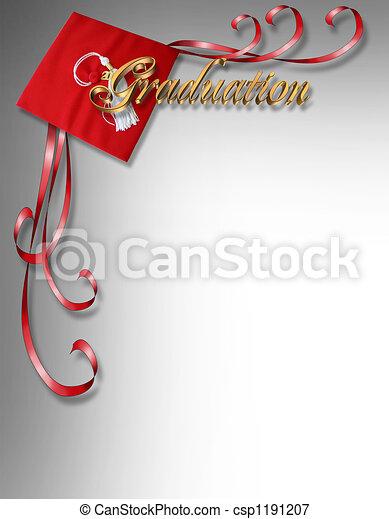 Tarjeta de graduación - csp1191207