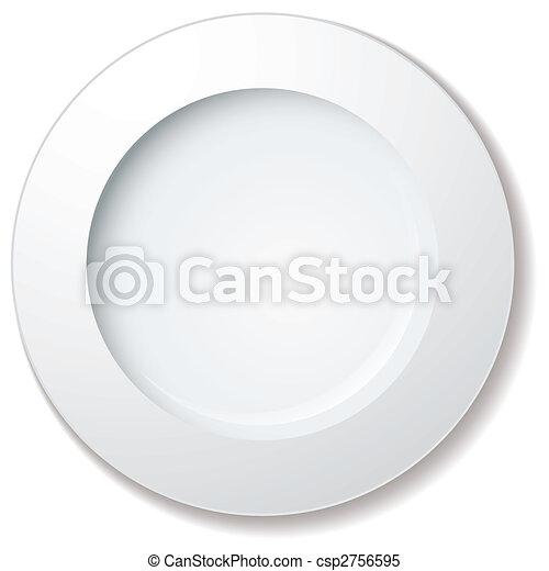 Un plato grande - csp2756595