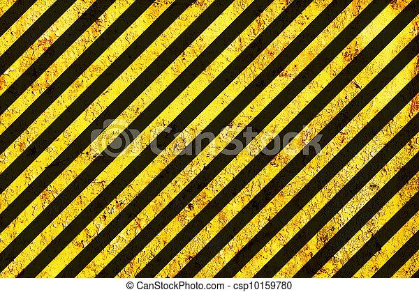 La superficie descompuesta como advertencia o patrón de peligro - csp10159780