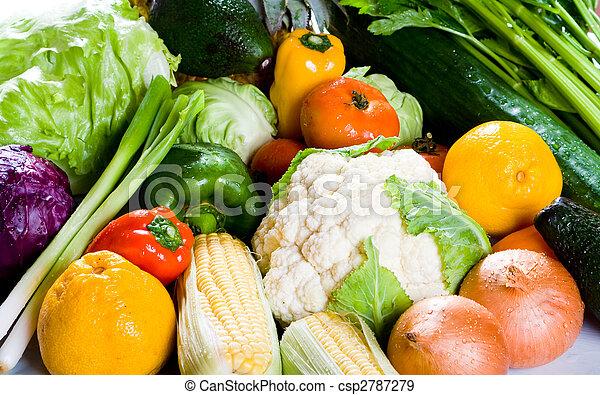 Grupo de comida - csp2787279
