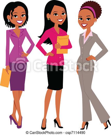 Grupo de mujeres - csp7114490