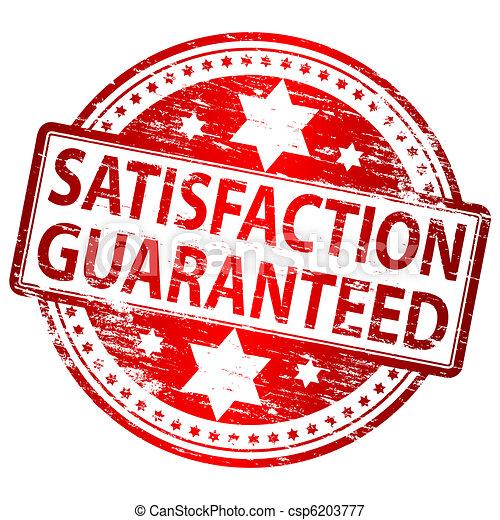 Satisfacción garantizada - csp6203777