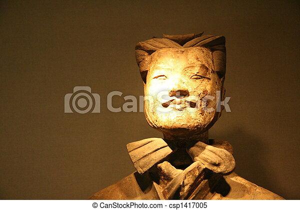 Guerrero Terracotta en Xian - csp1417005