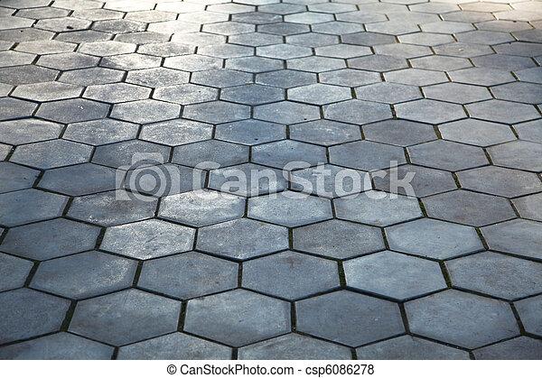 Pavimento Cobblestone - csp6086278