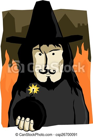 Guy Fawkes - csp26700091