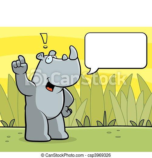 Habla Rhino - csp3969326