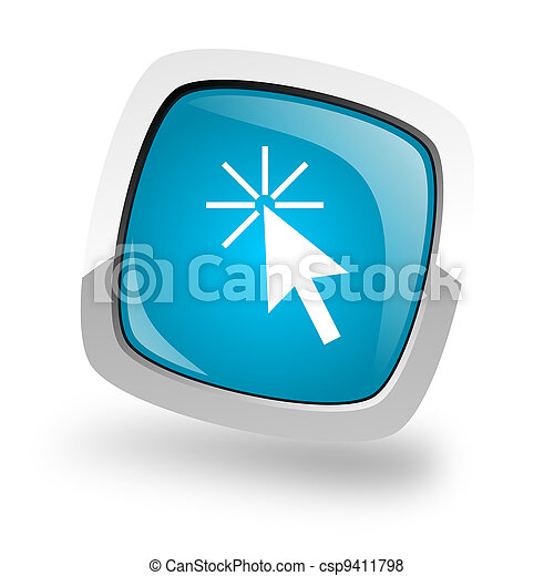 Clic aquí icono - csp9411798