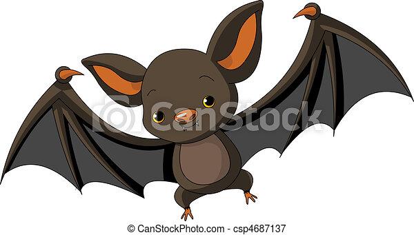 Los murciélagos de Halloween vuelan - csp4687137