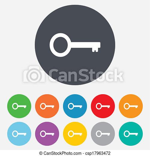 El icono de la señal. El símbolo de las herramientas. - csp17963472